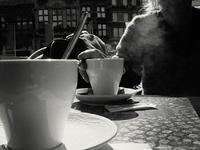 Cafés fumants