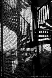 L'escalier de briques