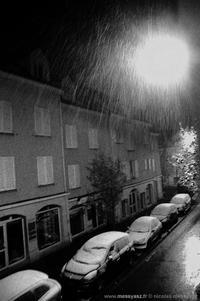 Les averses blanches des nuits d'hiver