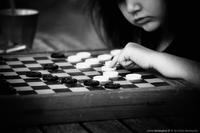Les dames en noir et blanc