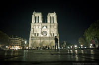Notre Dame des nuits parisiennes