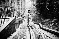 La remontée non-mécanique de Montmartre
