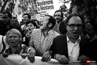 Des cris, des résistances, une France