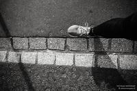 Sur les pavés, le run